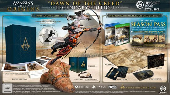Assassin's Creed® Origins - Dawn of the Creed Collector's Case - Legendary Edition, , large