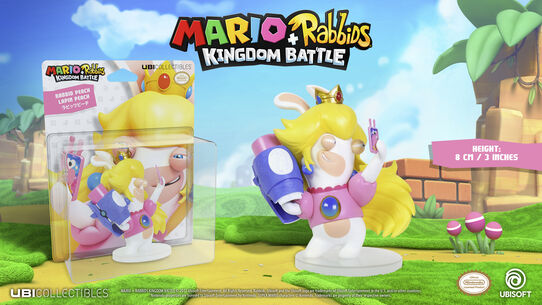 Mario + Rabbids Kingdom Battle: Rabbid Peach 3'', , large
