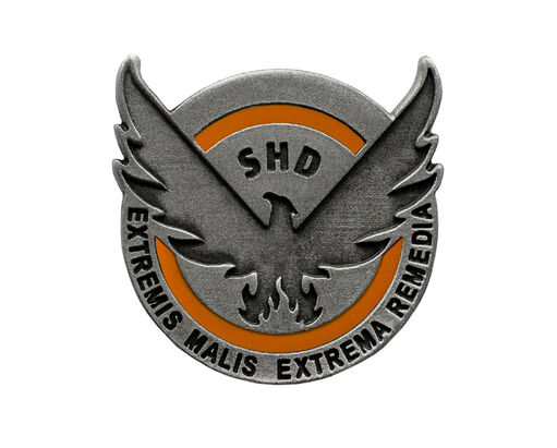 The Division - Official S.H.D Pin, , large