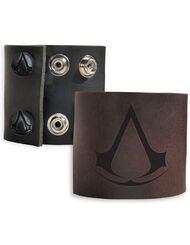 Assassin's Creed Leather Wristband, , large