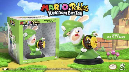 Mario + Rabbids Kingdom Battle: Rabbid Luigi 6'', , large