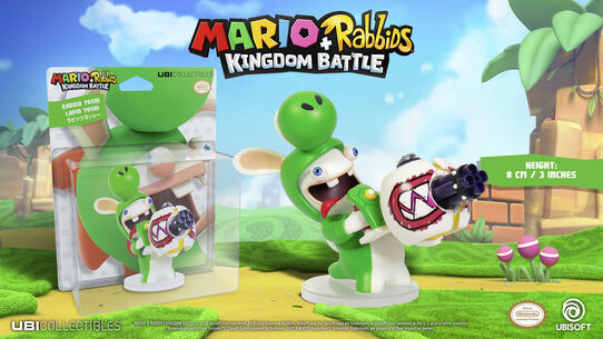 Mario + Rabbids Kingdom Battle: Rabbid Yoshi 3'', , large