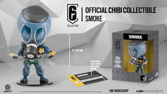 Six collection - Smoke Figurine, , large