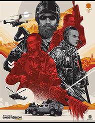Tom Clancy's Ghost Recon Wildlands Santa Blanca Poster Set, , large