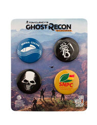 Ghost Recon Wildlands Pins Set 2, , large