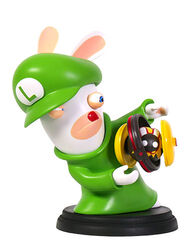 Mario + Rabbids Kingdom Battle: Rabbid Luigi 6'' Figurine, , large