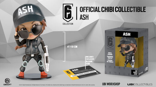 Six Collection - Ash Figurine, , large