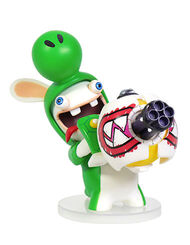 Mario + Rabbids Kingdom Battle: Rabbid Yoshi 3'' Figurine, , large