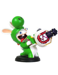 Mario + Rabbids Kingdom Battle: Rabbid Yoshi 6'' Figurine, , large
