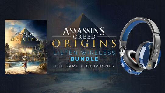 Assassin's Creed Origins: Listen Wireless + Assassin's Creed Origins Full Game, , large