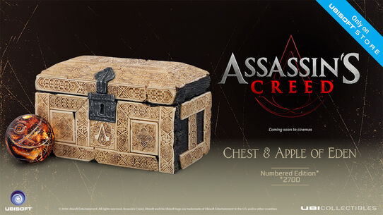 Assassin's Creed Movie - The Apple of Eden with ancestral chest, , large