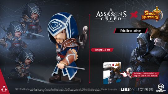 Soul Hunters: Ezio Revelations-Figur, , large