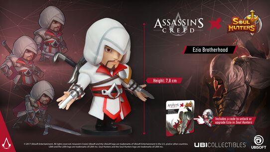 Soul Hunters: Ezio Brotherhood-Figur, , large