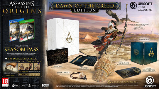 Assassin's Creed® Origins - Dawn of the Creed Collector's Case, , large