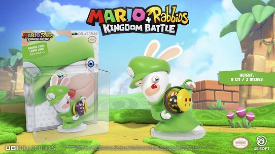 Mario + Rabbids Kingdom Battle: Rabbid Luigi 3'', , large