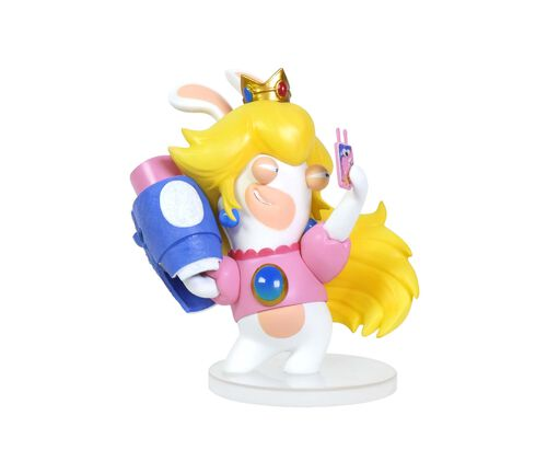 Mario + Rabbids Kingdom Battle: Rabbid Peach 3'' Figurine, , large