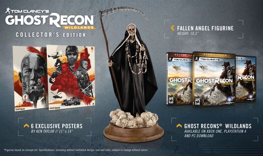 Tom Clancy's Ghost Recon® Wildlands Collector Edition Gold, , large