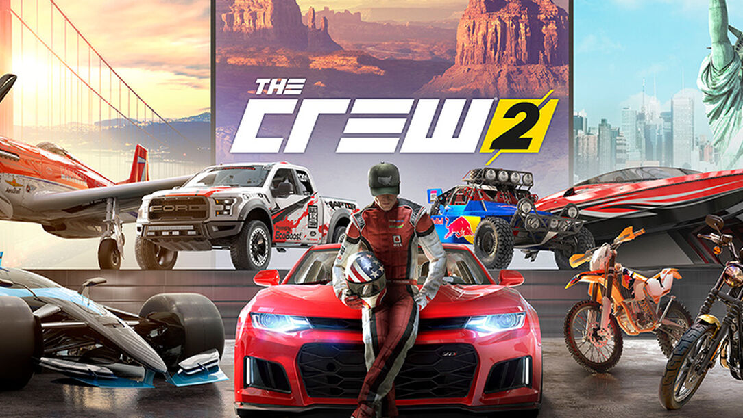 buy the crew 2 standard edition for ps4 xbox one and pc. Black Bedroom Furniture Sets. Home Design Ideas