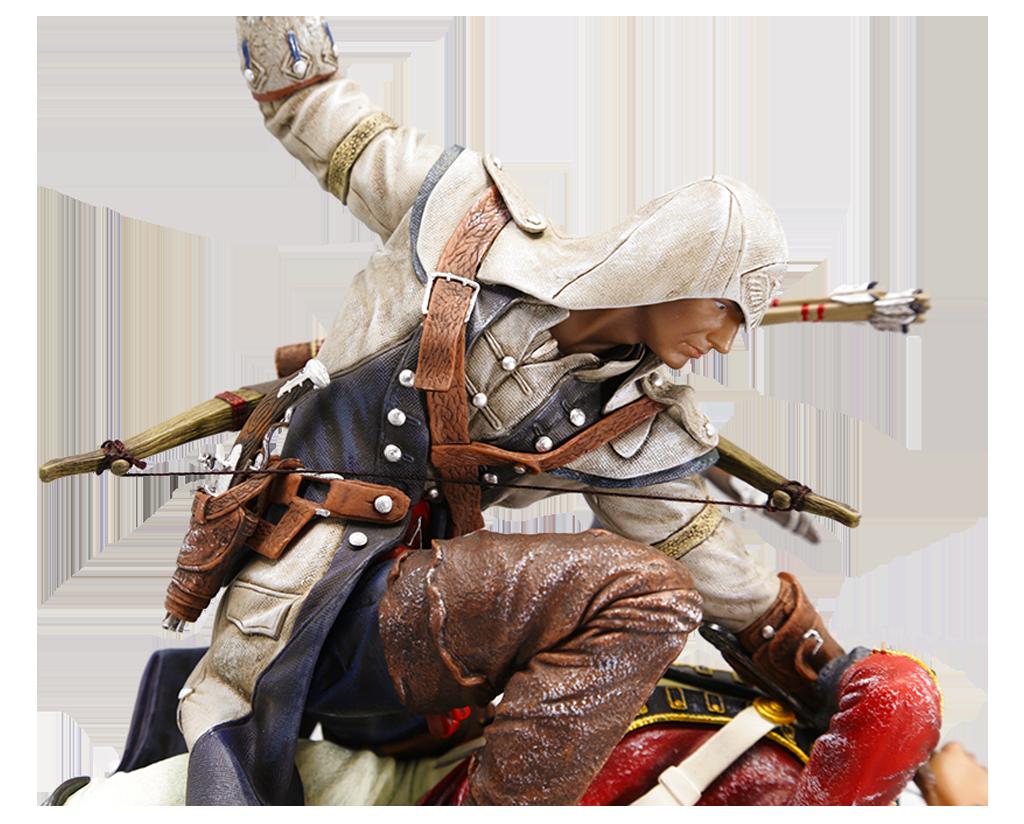 assassins creed connor the last breath figurine ubi