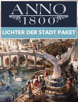 Anno 1800 - Lichter der Stadt-Paket, , large