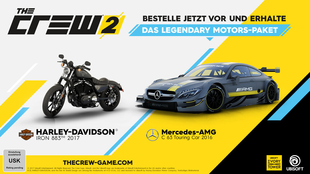 the crew 2 standard edition pc ps4 xbox one jetzt. Black Bedroom Furniture Sets. Home Design Ideas