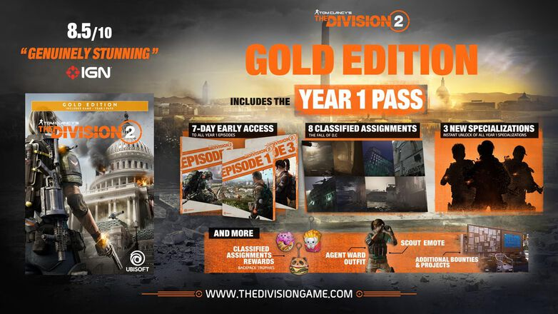 Tom Clancy's The Division 2⢠- Gold Edition, , large