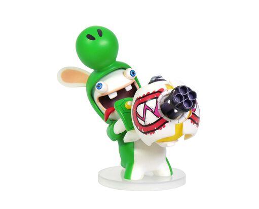 Mario + Rabbids Kingdom Battle: Rabbid Yoshi 3'' Figurine, , large