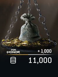 FOR HONOR™ 11 000 STEEL Credits Pack, , large