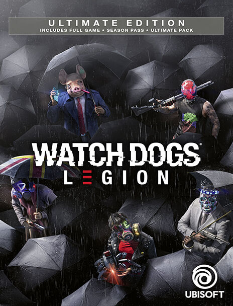 Watch Dogs Legion Ultimate Edition Xbox Series X