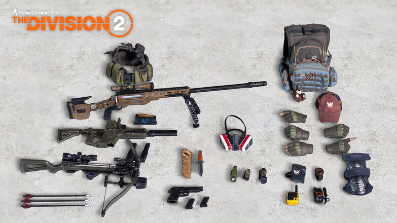tom clancys the division 2 phoenix shield collectors edition