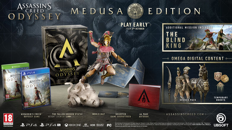 Assassin's Creed Odyssey Medusa Edition · UBISOFT