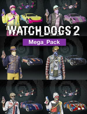 Watch Dogs®2 - MEGA PACK, , large