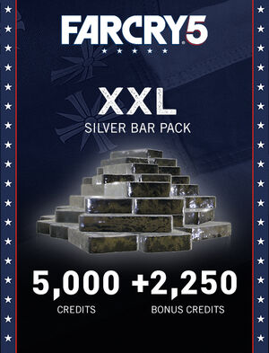 Far Cry® 5 XXL Silver Bar Pack – 7,250 Credits, , large