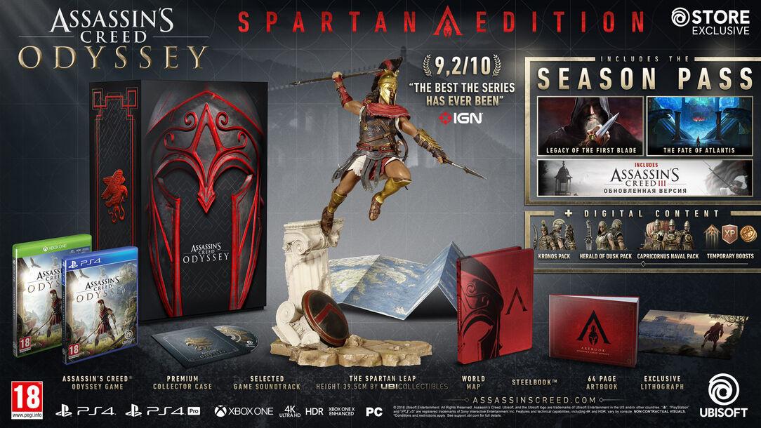 Hasil gambar untuk Assassin's Creed Odyssey [Spartan Edition]