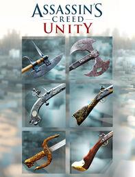 "Assassin's Creed Единство Пакет ""Оружие Революции"" (ULC), , large"