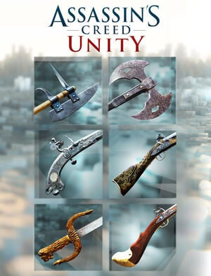 Assassin's Creed Unity Revolutionaire wapens-pakket (ULC), , large