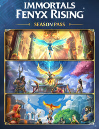 Immortals Fenyx Rising DLC Box Art