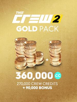Золотой набор кредитов команды The Crew 2, , large