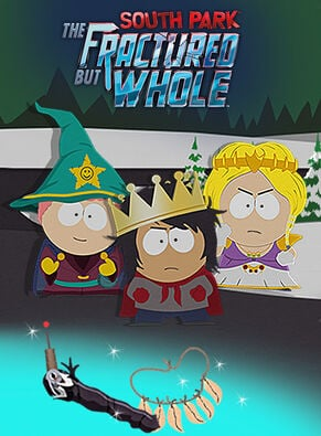 South Park: The Factured But Whole - Pacchetto Costumi e benefici Reliquie di Zaron - Bastone della Verità, , large