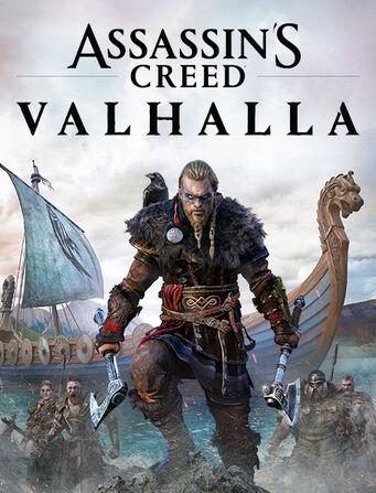 Assassin's Creed Valhallah Box Art