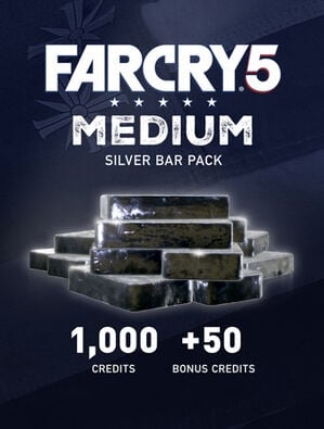 Far Cry® 5 Medium Silver Bar Pack – 1050 Credits, , large