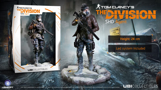 Tom Clancy's The Division™ - SHD Agent figurine, , large
