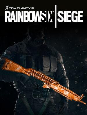 Tom Clancy's Rainbow Six Siege - Topaz weapon skin, , large