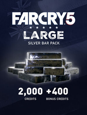 Far Cry® 5 Large Silver Bar Pack – 2400 Credits, , large
