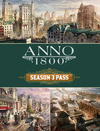 Anno 1800 Season 3 Pass Box Art
