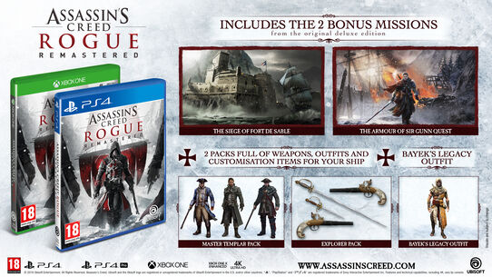 Assassin's Creed Rogue Remastered, , large