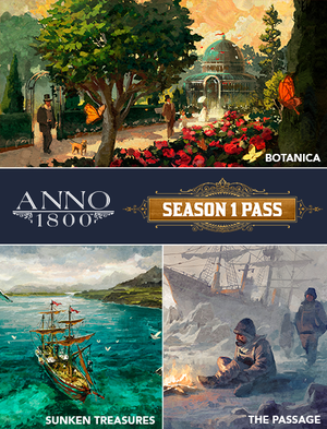Anno 1800 Season 1 Pass, , large
