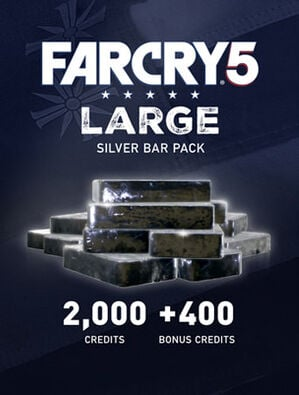 Ensemble de lingots d'argent G Far Cry® 5 : 2400 crédits, , large