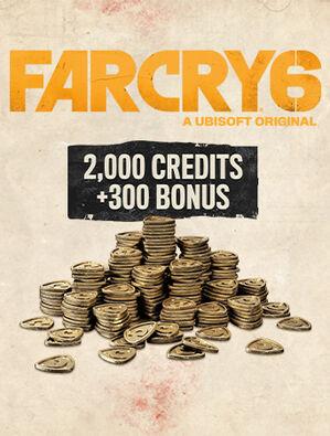 Far Cry 6 Medium Pack (2,300 Credits)Box Art