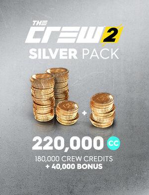 Серебряный набор кредитов команды The Crew 2, , large